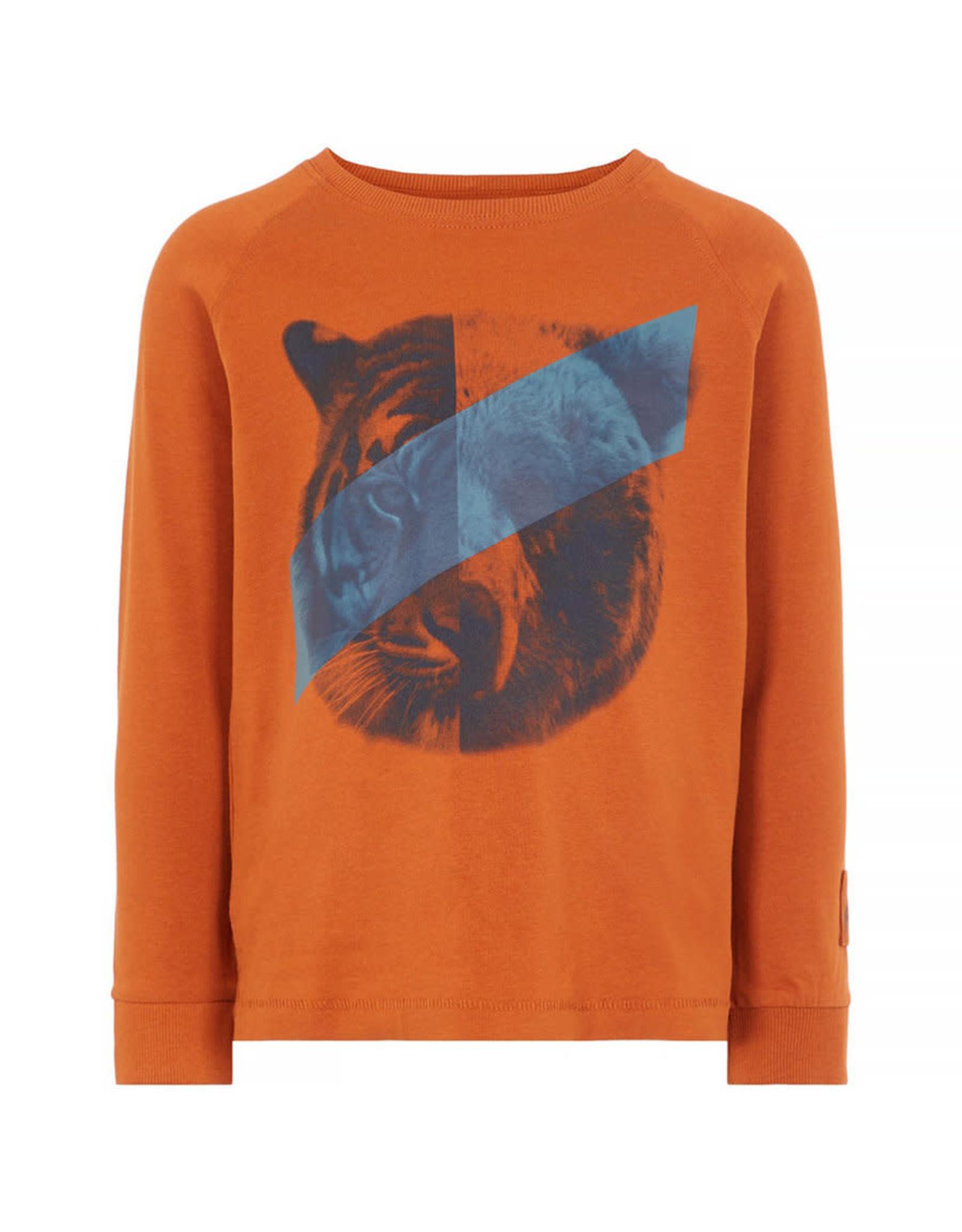 Name It T-shirt met beer/tijger (2 kleuren) van Name It