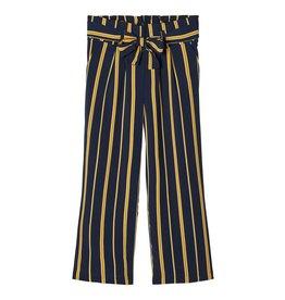 Name It Brede broek met okere strepen
