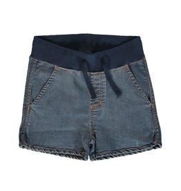 Maxomorra Korte zachte jeans short unisex