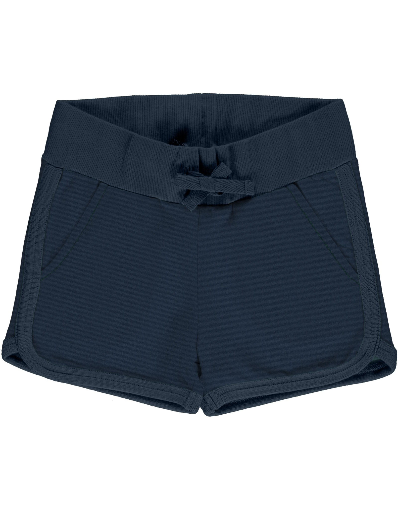 Maxomorra Korte blauwe sweatstof short