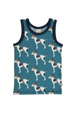 Maxomorra Mouwloze t-shirt met honden - LAATSTE MAAT 86/92