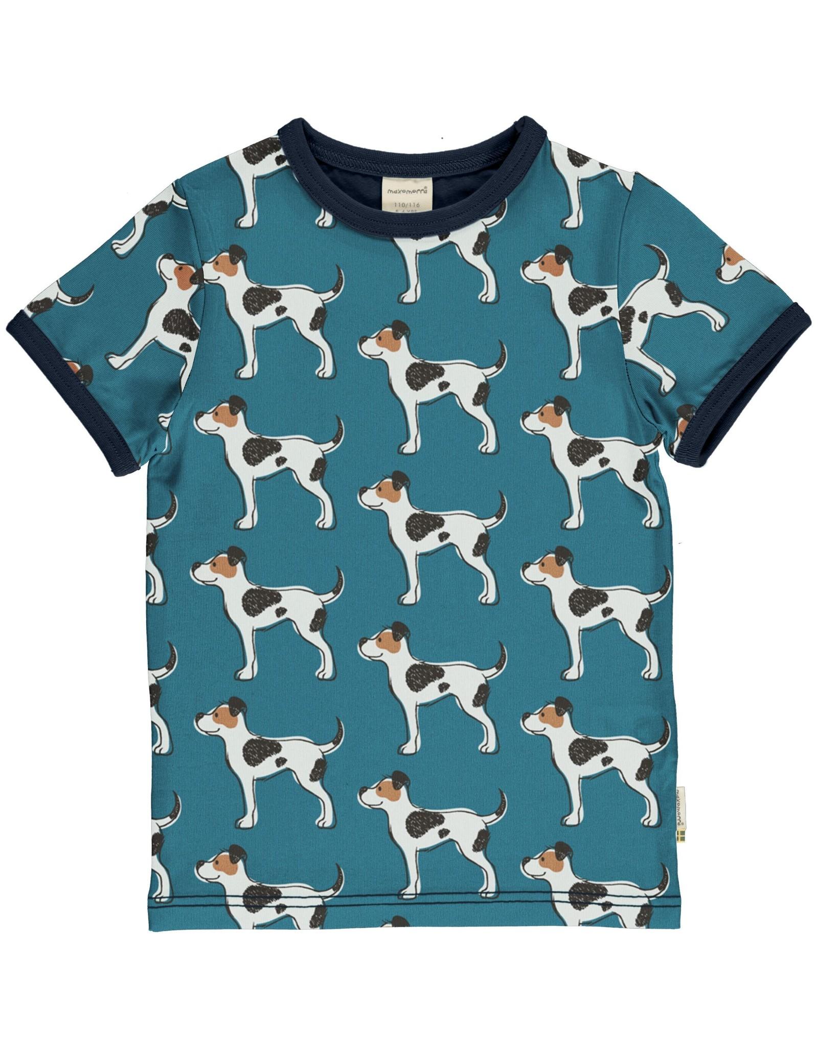 Maxomorra T-shirt met honden