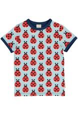 Maxomorra T-shirt met lieveheersbeestjes