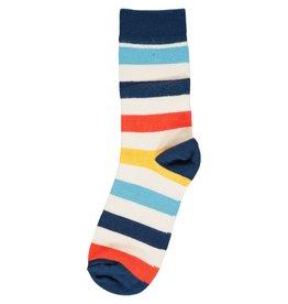 Maxomorra Vrolijke 2-pack gestreepte sokken (2 motieven)