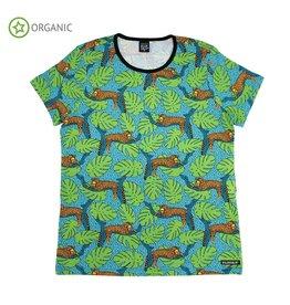 Villervalla VOLWASSEN T-shirt met luipaarden