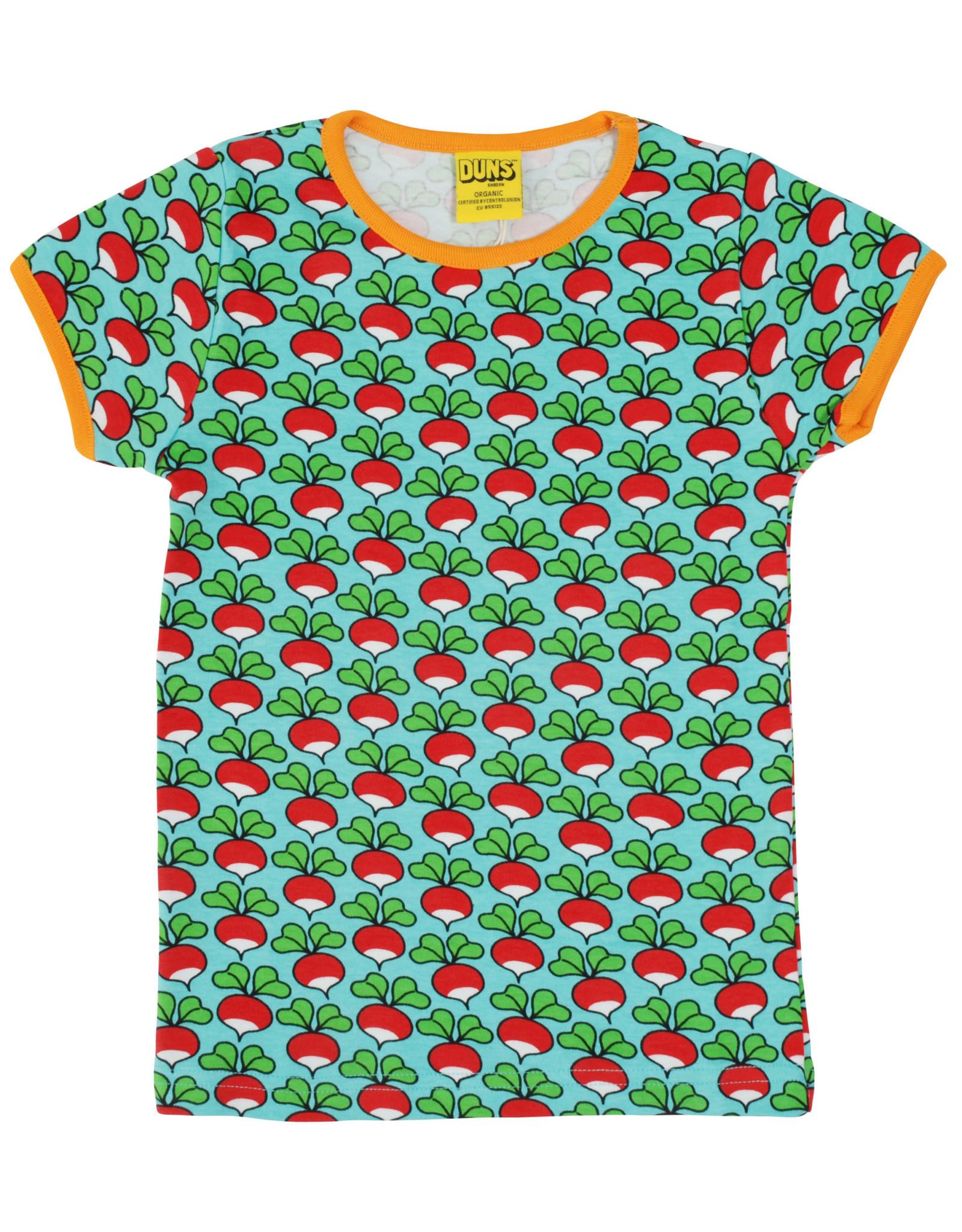 Duns VOLWASSEN t-shirt met radijsjes
