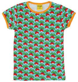Duns VOLWASSEN t-shirt met radijsjes - LAATSTE MAAT XL