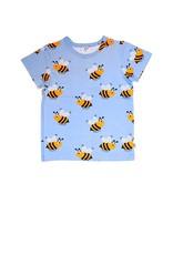 JNY Kids Blauwe t-shirt met bijtjes