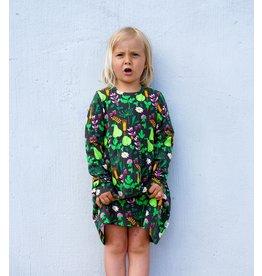 JNY Kids Kleedje met fruit/bloemen print