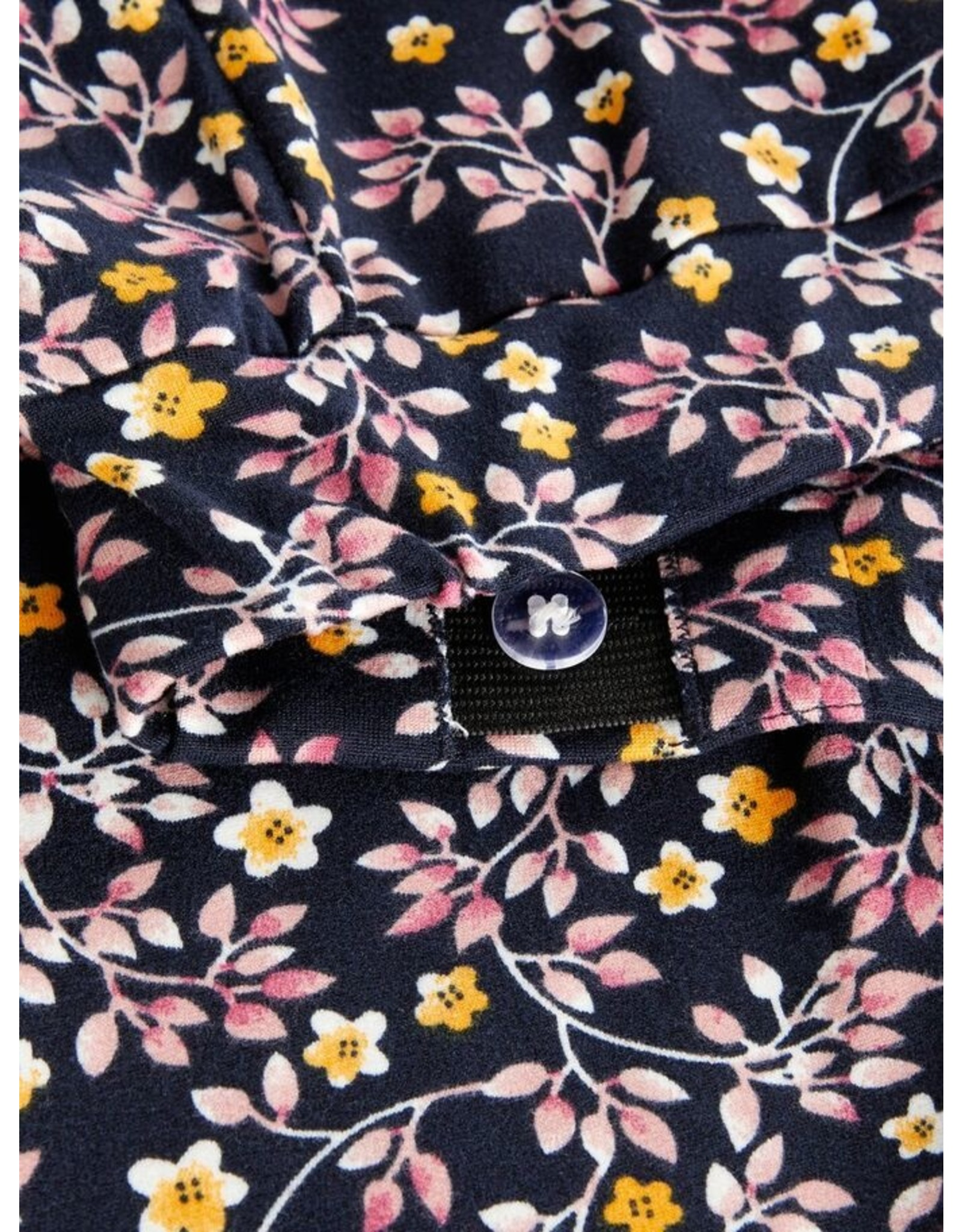 Name It Superzachte broek met bloemetjes