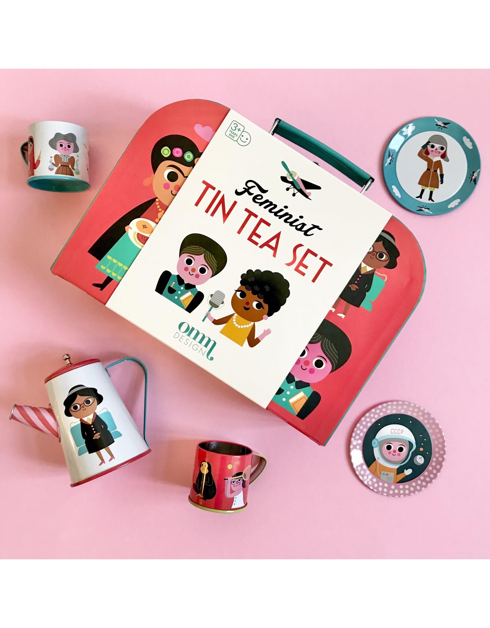 OMM Design Thee Speelsetje voor kinderen (2 motieven)