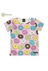 Villervalla T-shirt met donuts (2 kleuren)