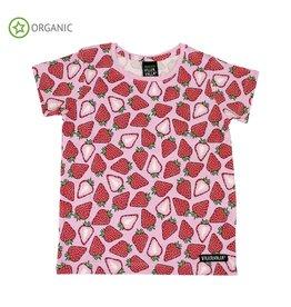 Villervalla T-shirt met aardbeien