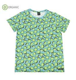 Villervalla VOLWASSENEN t-shirt met kiwi's