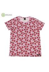 Villervalla VOLWASSENEN t-shirt met aardbeien