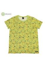 Villervalla VOLWASSENEN T-shirt met bananen
