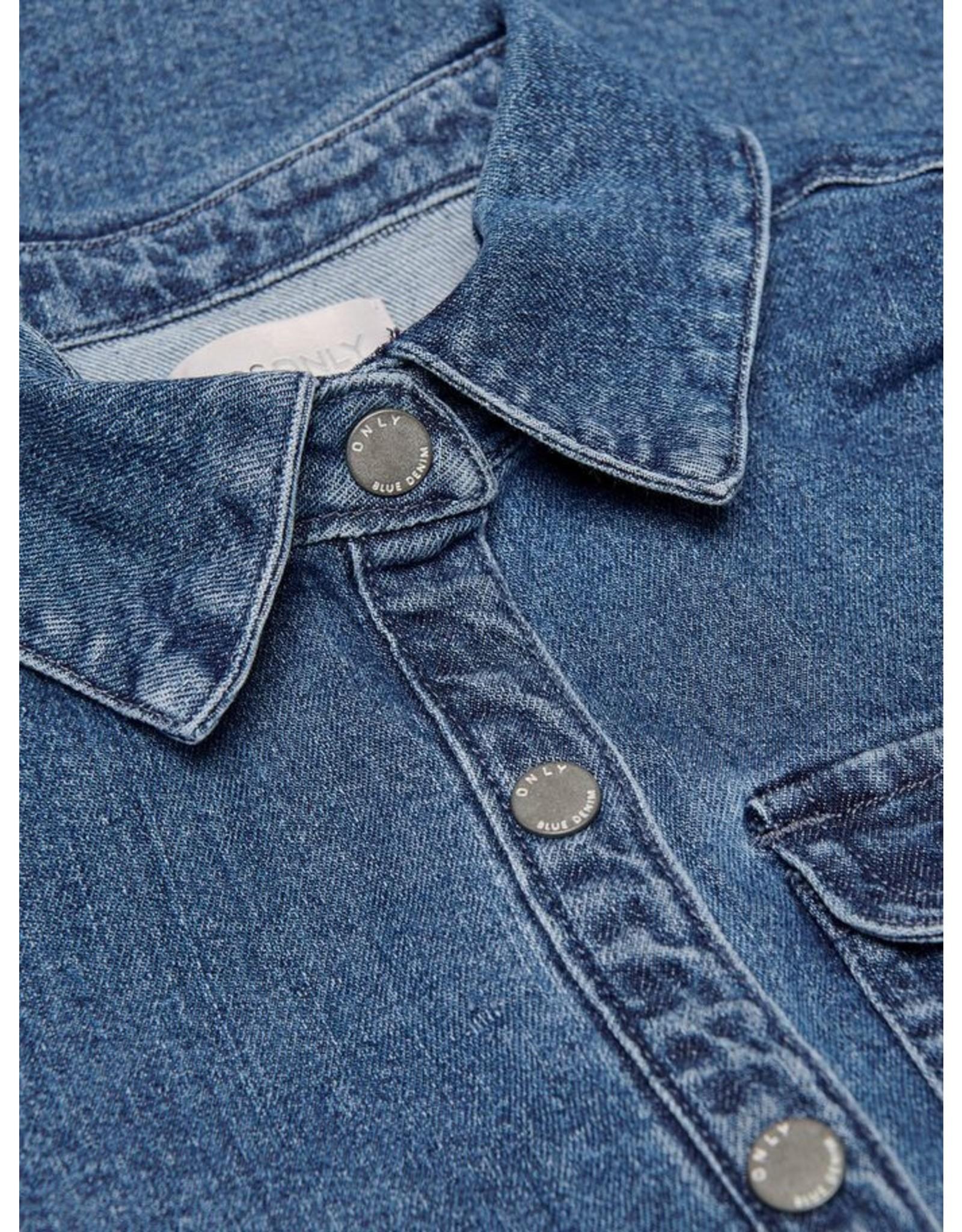 KIDS ONLY Jeans kleedje met zakjes - LAATSTE MAAT 164