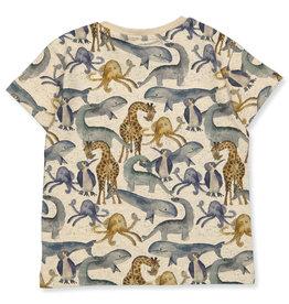 Name It T-shirt met verschillende dieren