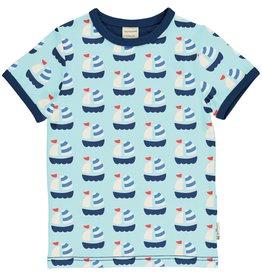 Maxomorra T-shirt met bootjes - LAATSTE MAAT 98/104