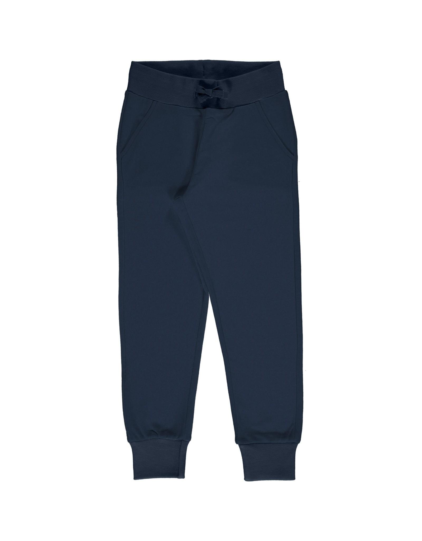 Maxomorra Zachte jogging broek donkerblauw