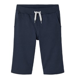 Name It Super lange donkerblauwe sweatstof short