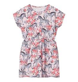 Name It Roze kleedje met zebra's