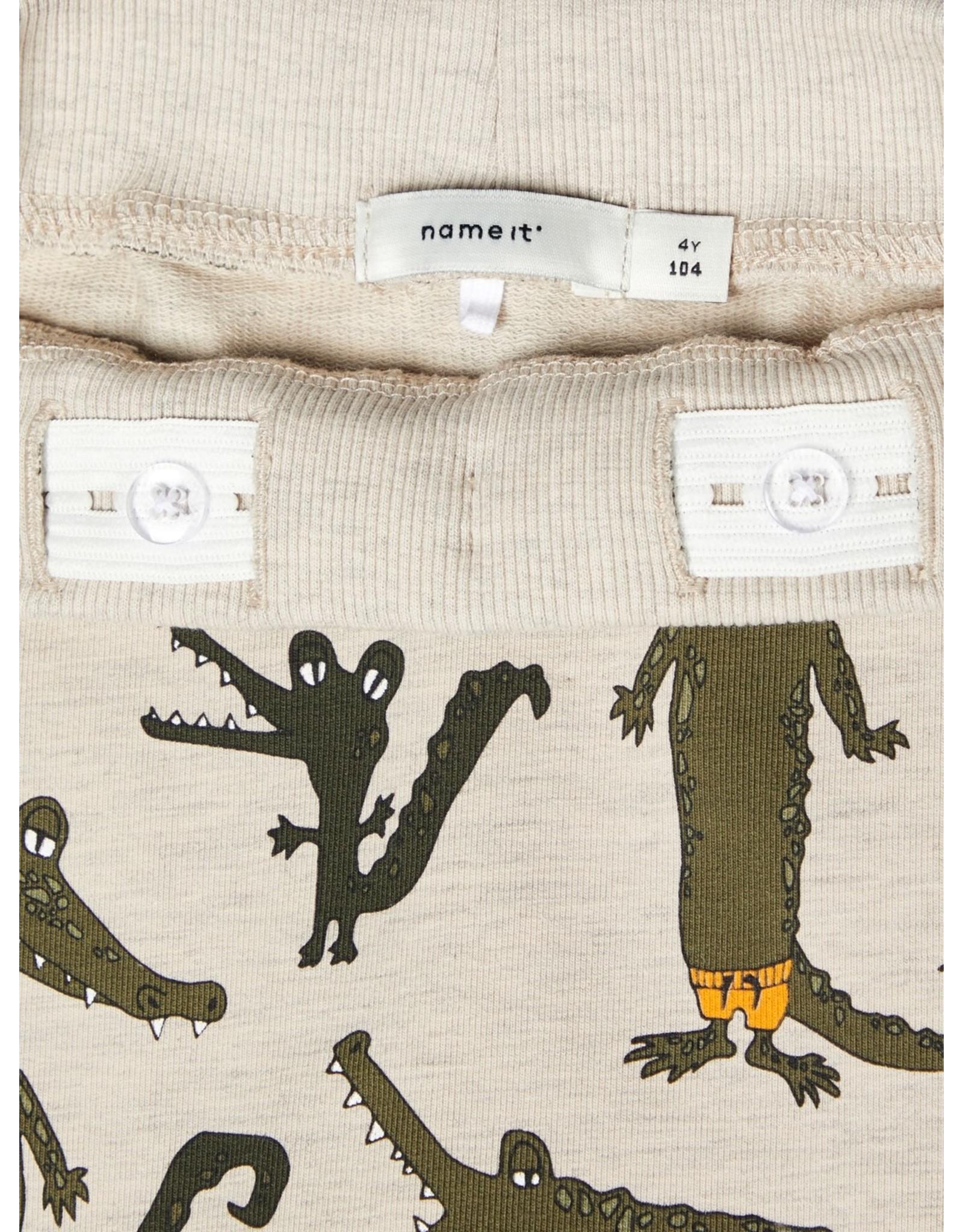 Name It Krokodillen short