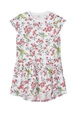 Name It Wit zomerkleedje met kolibri's