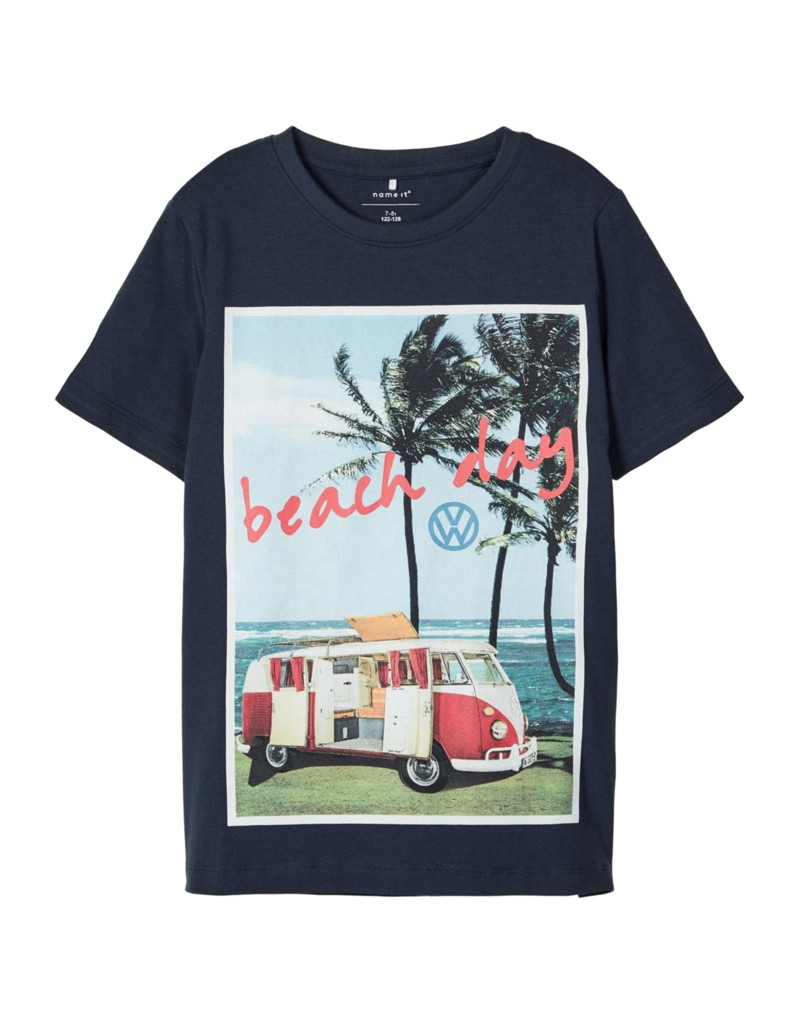 Name It T-shirt met Volkswagen busje (2 kleuren)