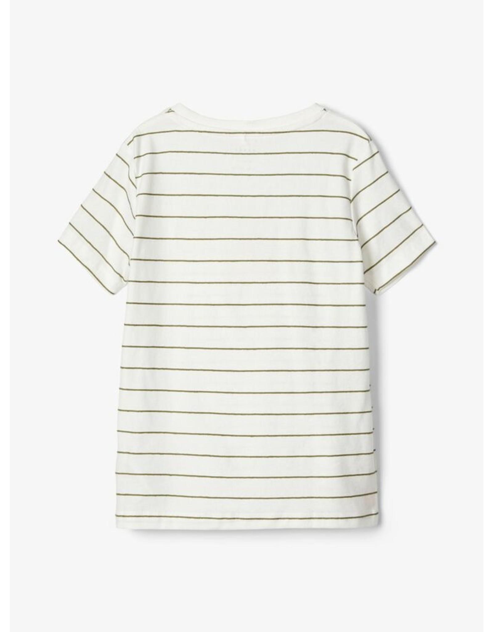 Name It Gestreepte t-shirt (2 kleuren)