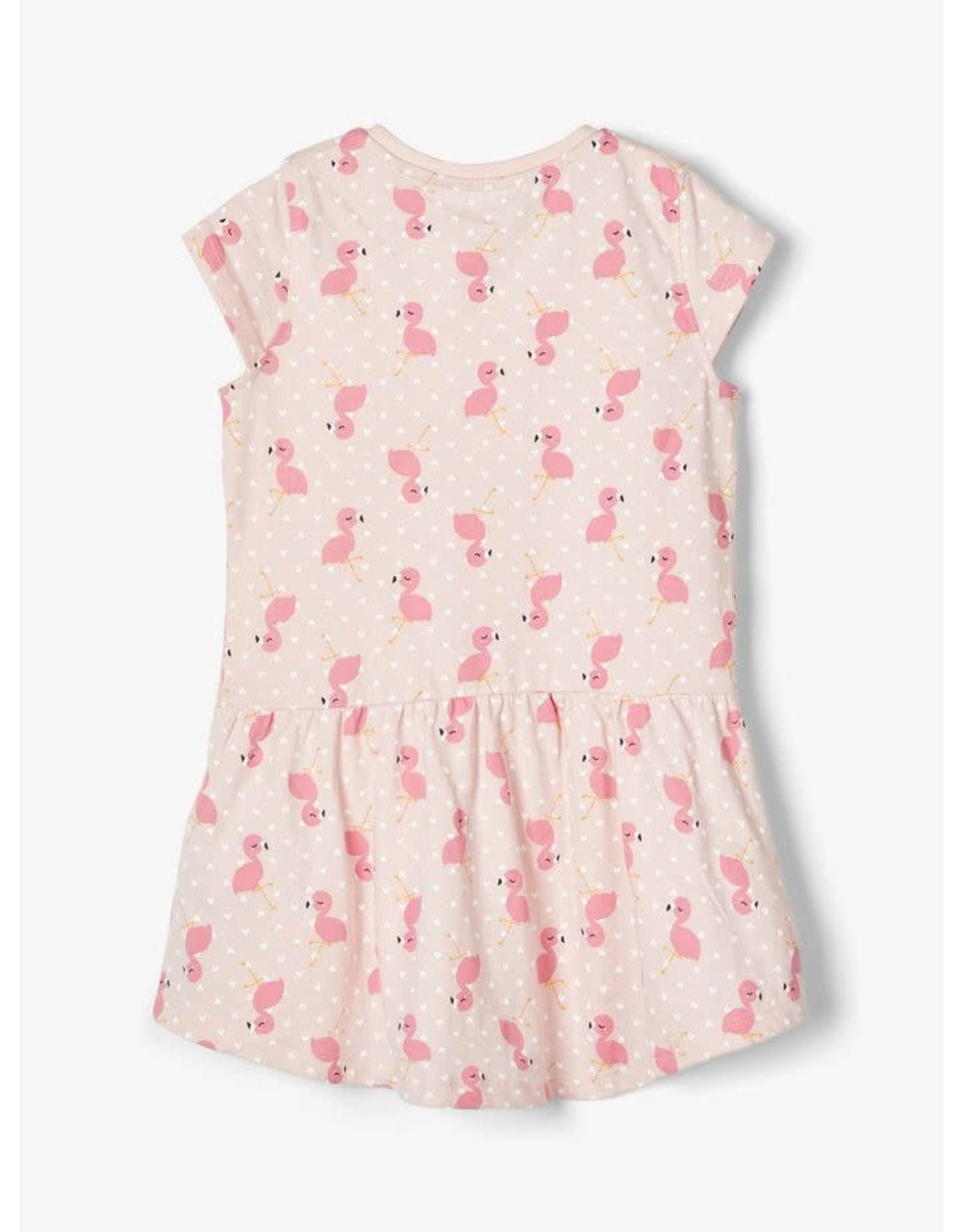 Name It Luchtige zomerjurk met flamingo's