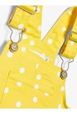Name It Gele overgooier met witte stipjes
