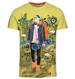 Name It Gele skater t-shirt