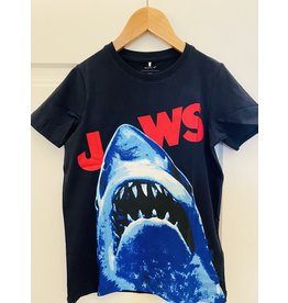 "Name It Donker blauwe retro ""Jaws"" t-shirt"