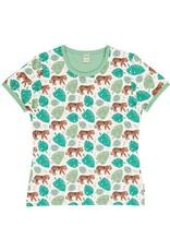 Meyadey VOLWASSENEN t-shirt met tijger patroon