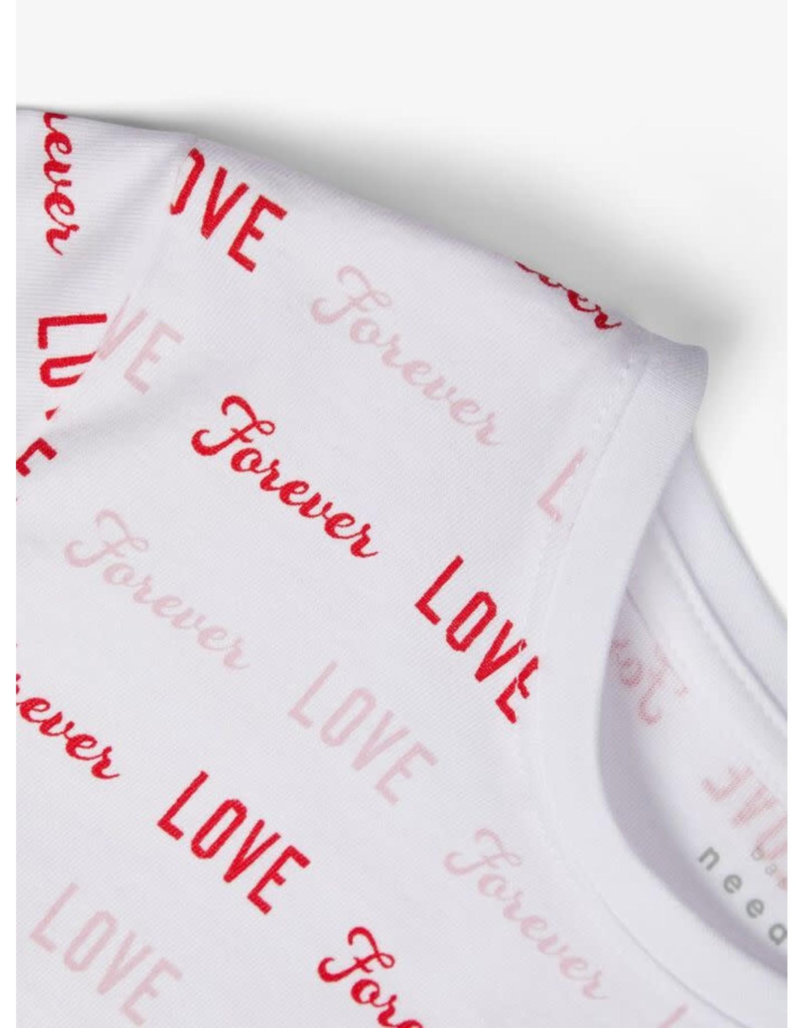 """Name It Bedrukte meisjes t-shirt """"Love"""""""