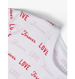 "Name It Bedrukte meisjes t-shirt ""Love"""
