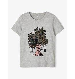 Name It T-shirt met boomhut