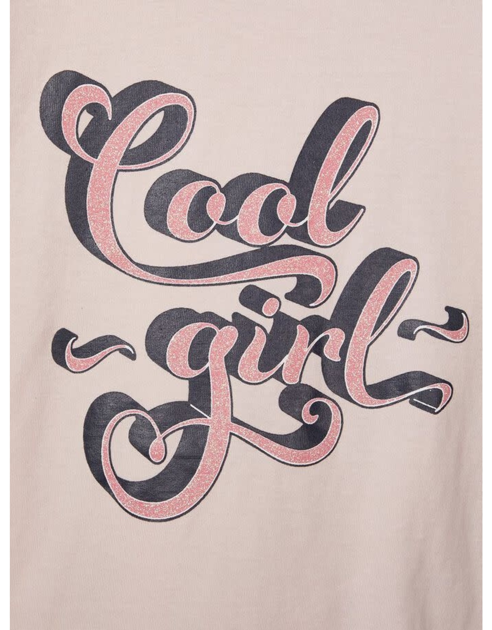 "Name It Roze t-shirt met ""Cool girl"" opschrift"