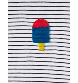 Name It Streepjes t-shirt met zacht ijsje