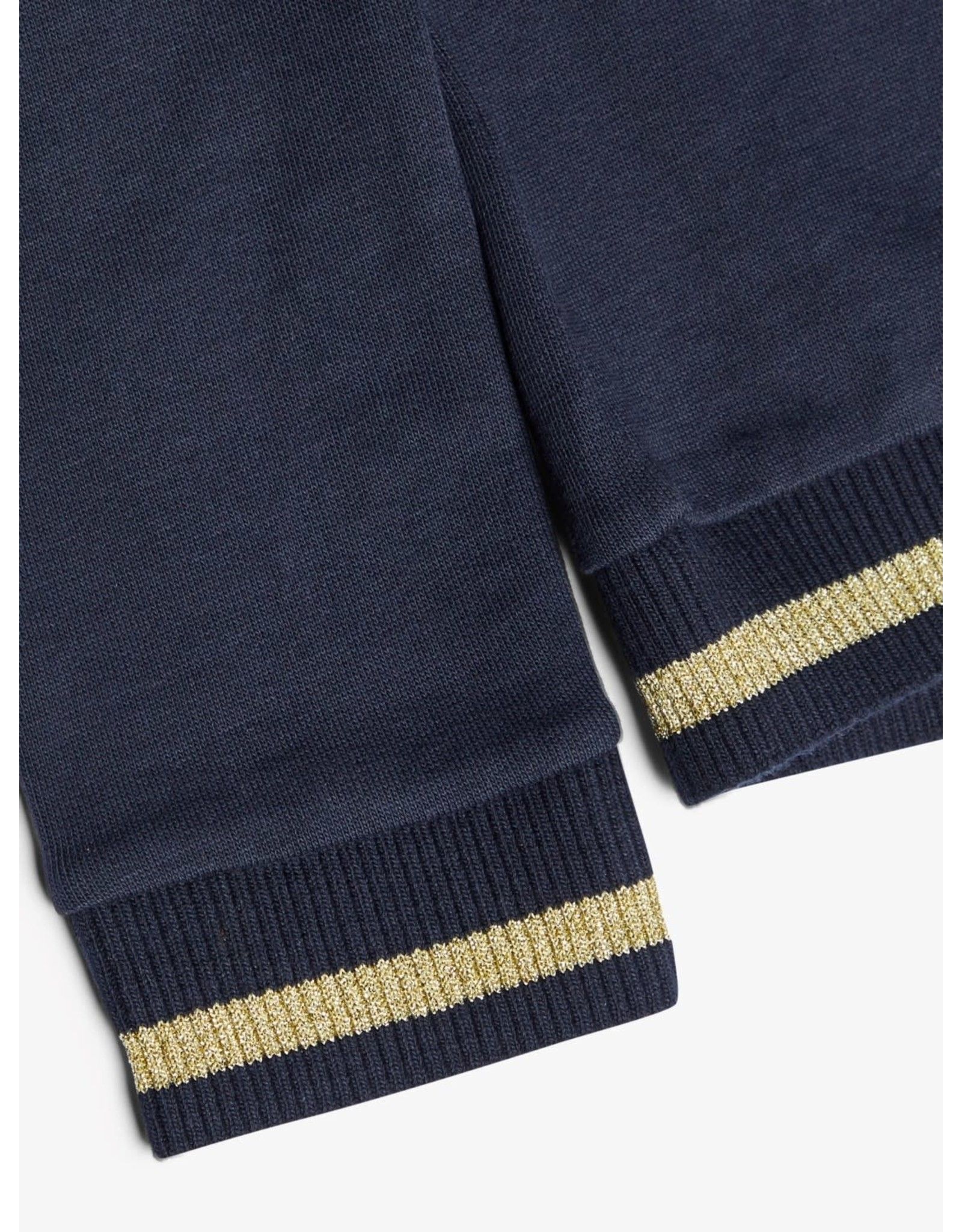 Name It Katoenen blauwe trui met rits