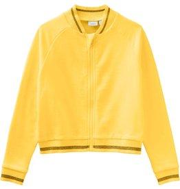 Name It Katoenen gele trui met rits