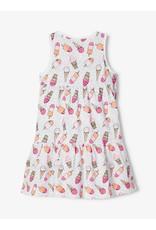 Name It Mouwloos wijd zomerkleed met ijsjes