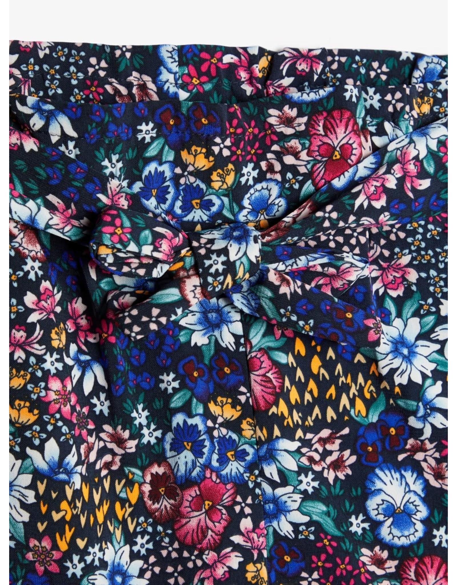 Name It Brede 7/8 broek met bloemenprint