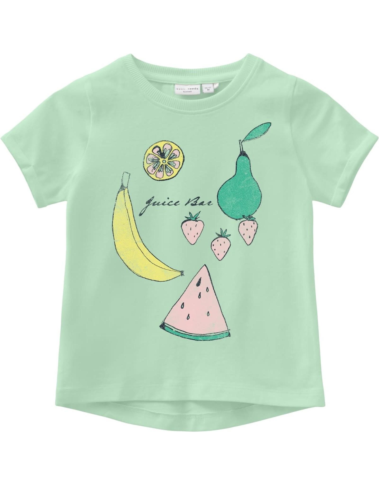 Name It T-shirt met fruit print