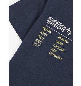 """Name It T-shirt met """"flight departures"""" print"""