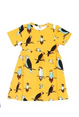 JNY Kids Kleedje met papegaaien