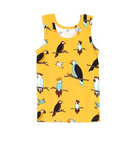 JNY Kids Mouwloze t-shirt met papegaaien