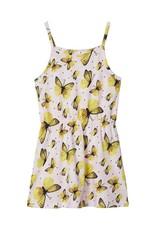 Name It Mouwloze jurk met vlindertjes