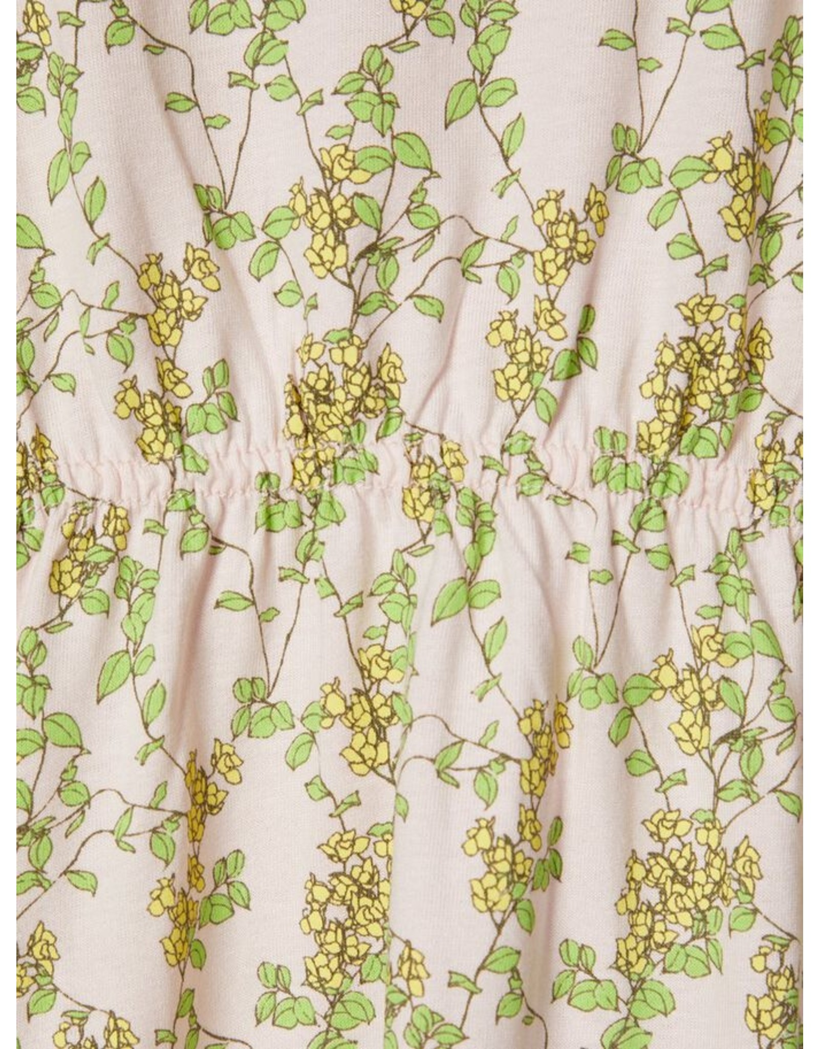 Name It Mouwloze zomerjurk met bloesem print